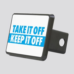 weight loss motivaitonal Rectangular Hitch Cover