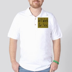 Will Work Golf Shirt
