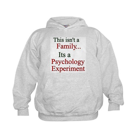 Family Psych Experiment2 Kids Hoodie