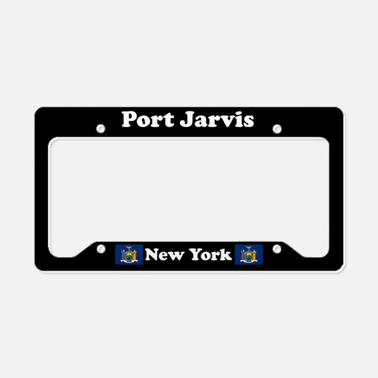 Port Jarvis NY - LPF License Plate Holder
