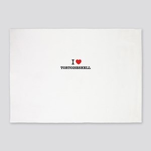I Love TORTOISESHELL 5'x7'Area Rug