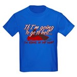 Going In My Way Kids Dark T-Shirt