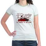 Going In My Way Jr. Ringer T-Shirt