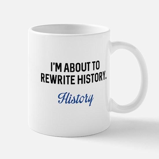 Rewrite History Mug