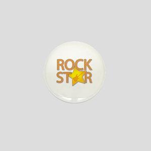 Rock Star Mini Button