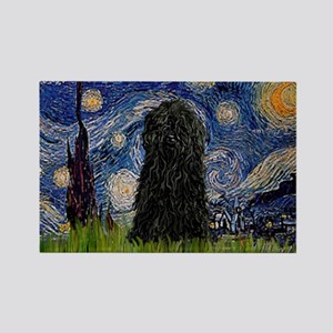 Starry Night / Puli Rectangle Magnet