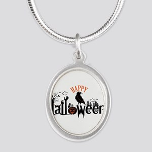 Happy halloween Black & orange Spooky Ty Necklaces