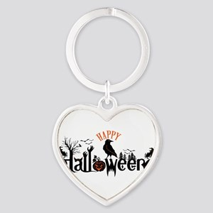 Happy halloween Black & orange Spooky Ty Keychains