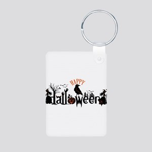 Happy halloween Black & orange Spooky Ty Keychains