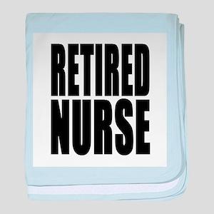 Retired Nurse baby blanket