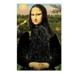 Mona Lisa /Puli Postcards (Package of 8)