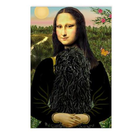 Mona Lisa /Puli Postcards (Package of 8)