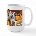 Russell Terrier Autumn Design Mugs