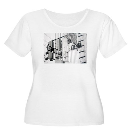 NY Broadway Times Square - Women's Plus Size Scoop