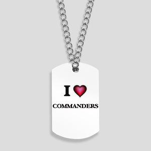 I love Commanders Dog Tags