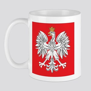 square polish eagle Mug