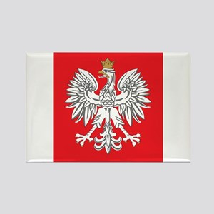 square polish eagle Rectangle Magnet