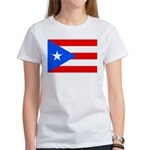 Bandera De Puerto Rico Women's T-Shirt Camiset