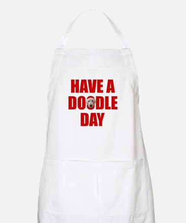 Have A Doodle Day Labradoodle BBQ Apron