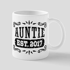Auntie Est. 2017 Mug