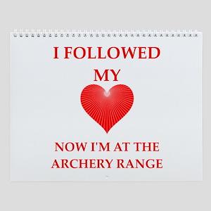 Archery Wall Calendar
