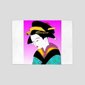 Geisha_Japan 5'x7'Area Rug
