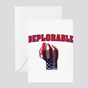 DEPLORABLE Greeting Cards