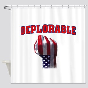 DEPLORABLE Shower Curtain