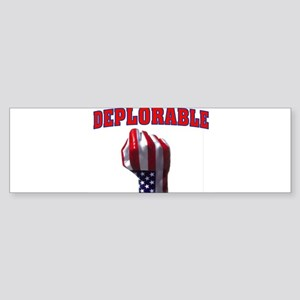 DEPLORABLE Bumper Sticker