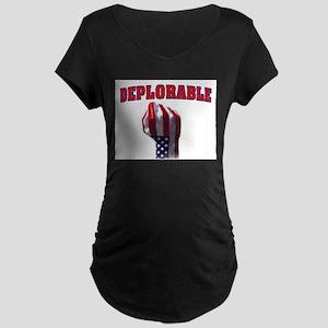 DEPLORABLE Maternity T-Shirt