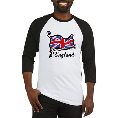 Funky British Flag Baseball Jersey