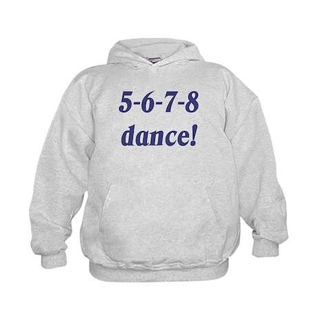 5-6-7-8-dance Kids Hoodie