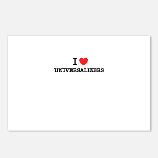 I Love UNIVERSALIZERS Postcards (Package of 8)