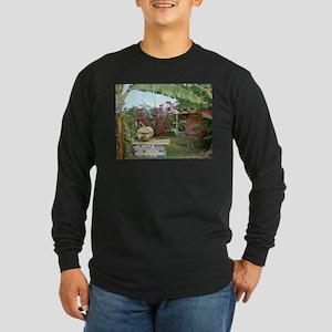 Jerk_Chicken_Stand_Negril_Jama Long Sleeve T-Shirt