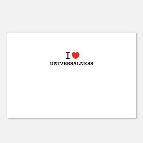 I Love UNIVERSALNESS Postcards (Package of 8)