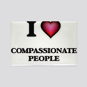 I love Compassionate People Magnets