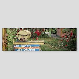 Jerk_Chicken_Stand_Negril_Jamaica Bumper Sticker