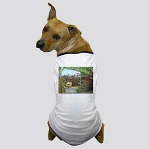 Jerk_Chicken_Stand_Negril_Jamaica Dog T-Shirt