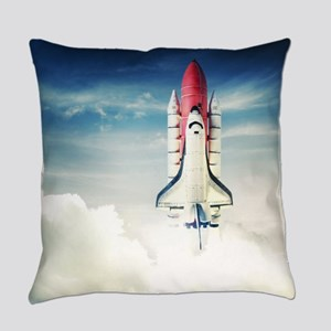 Space Shuttle Launch Everyday Pillow