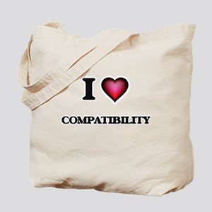 I love Compatibility Tote Bag