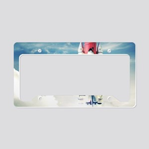 Space Shuttle Launch License Plate Holder