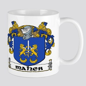 Maher Coat of Arms Mug