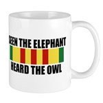 SEEN THE ELEPHANT, HEARD THE OWL Mugs