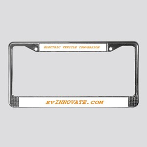 Ev Innovate License Plate Frame