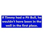 Timmy bumper sticker