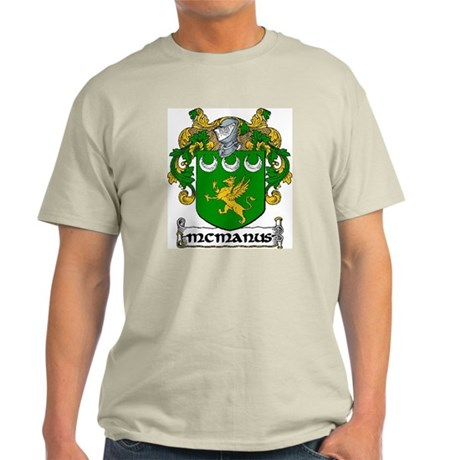 McManus Coat of Arms Light T-Shirt