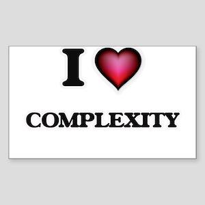 I love Complexity Sticker