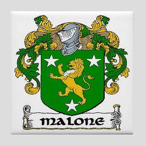 Malone Coat of Arms Ceramic Tile