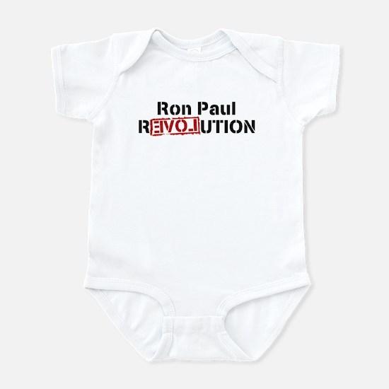 Ron Paul REVOLUTION Infant Bodysuit