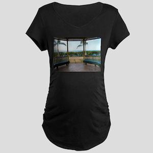 Gazebo-Hospital-Park-Montego-Bay Maternity T-Shirt